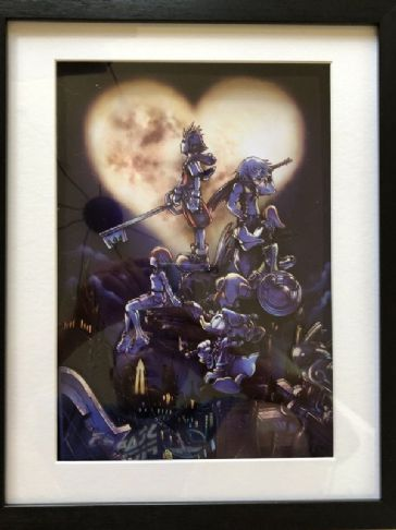Kingdom Hearts 1 (Dark) 3D Art Diorama